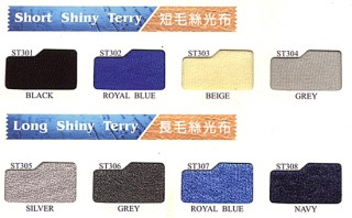 Long Terry Fabric & Short Terry Fabric